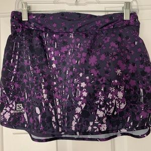 Purple Salomon Skort